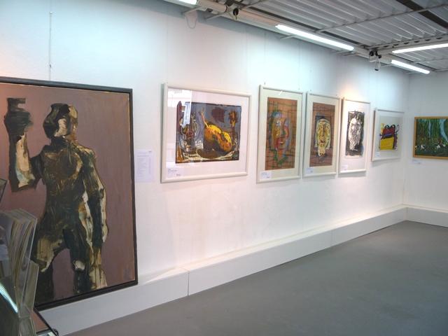 Ausstellung Markus Lüpertz 08.04.11 - 06.05.11
