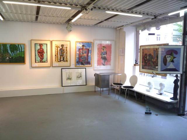 Ausstellung1 Markus Lüpertz 08.04.11 - 06.05.11