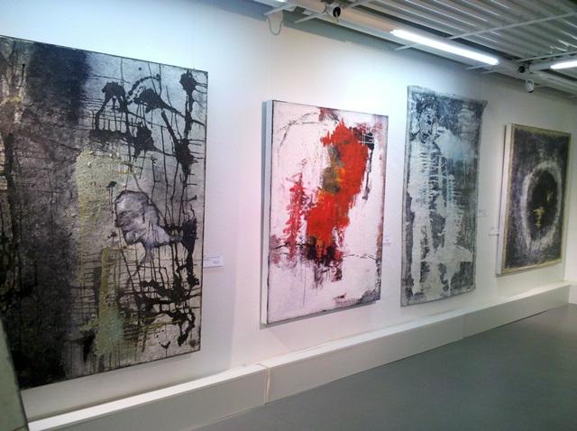 1 Ausstellung Jana Bergemann, KUNSTMASSNAHMEN Jürgen Leibig