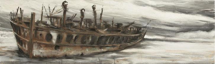 Wreck. 158x48