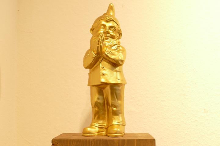 Ben, gold, EUR 50.- KUNSTMASSNAHMEN Heidelberg