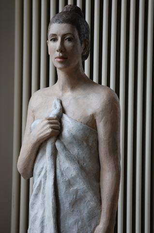 Madeleine nach dem Bade, Unikat, Höhe 170 cm