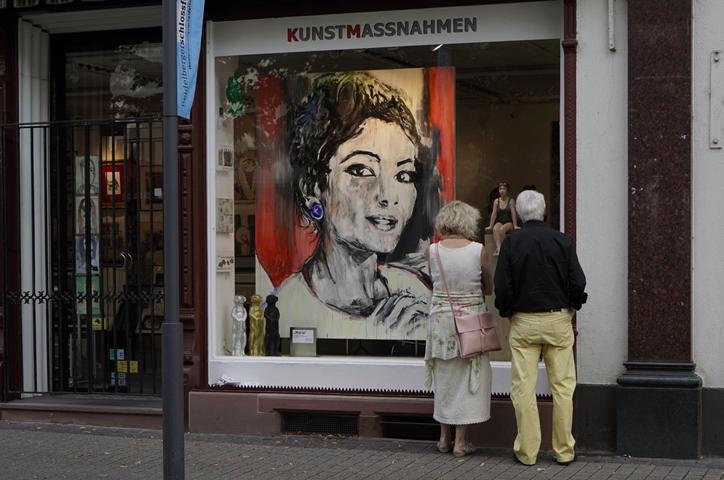 Schaufenster KUNSTMASSNAHMEN 29.06.2015