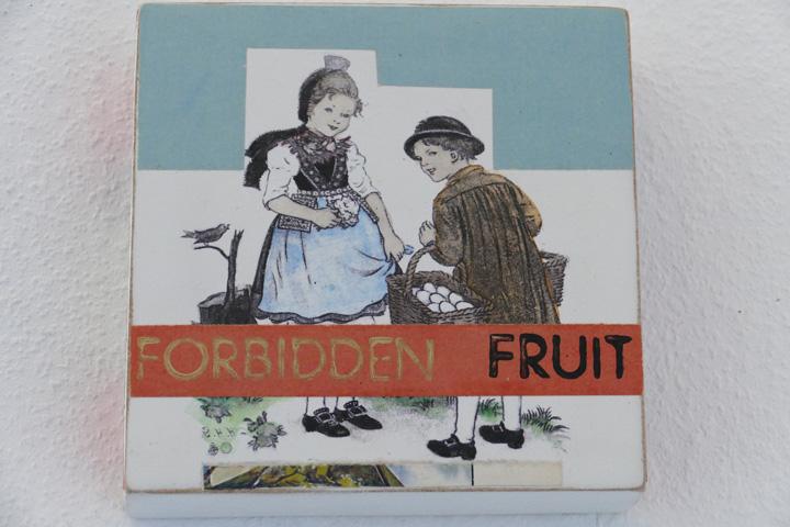 Forbidden fruit, 15x15cm