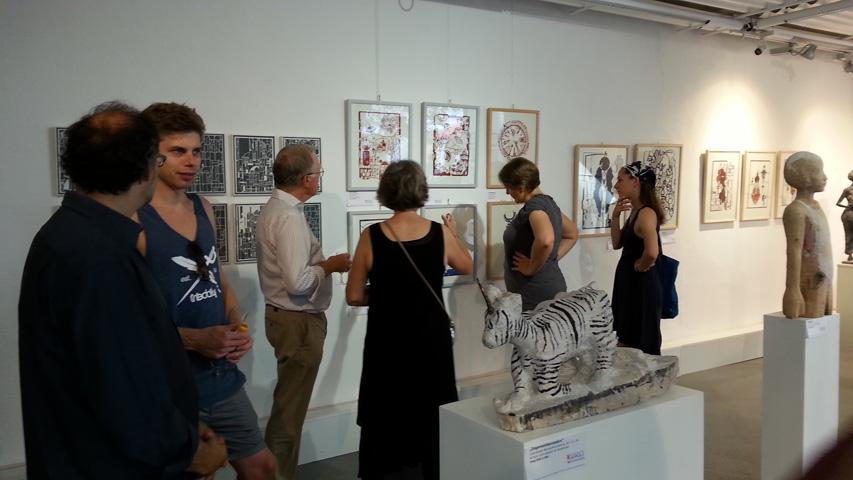 Ausstellung 3 KUNSTMASSNAHMEN Heidelberg 11.09.16