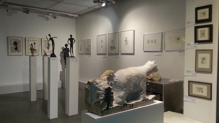 Ausstellung 5 KUNSTMASSNAHMEN Heidelberg 11.09.16