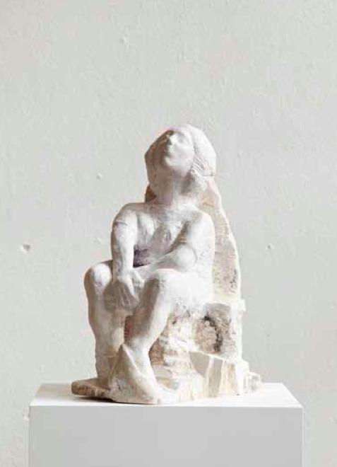 Carlo Leopold von Broschewitz Lust, Marmor, Höhe 45 cm
